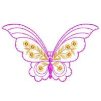 Matriz de bordado borboleta 29