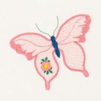 Matriz de bordado borboleta 31
