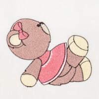 Matriz de bordado ursinho 84