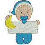 Matriz de bordado baby com placa 3