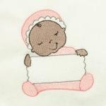 Matriz de bordado baby com placa 4