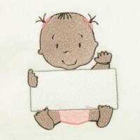 Matriz de bordado baby com placa 5