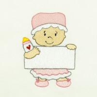 Matriz de bordado baby com placa 7