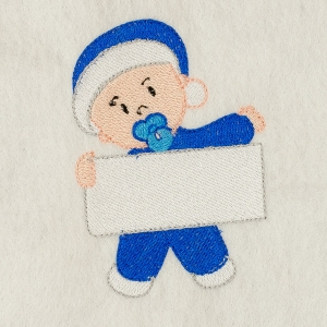 Matriz de bordado baby com placa 8