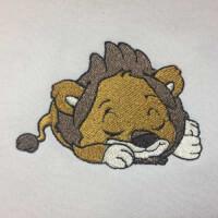 Matriz de bordado Leãozinho 3