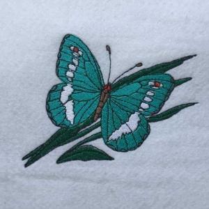 Matriz de bordado borboleta 37
