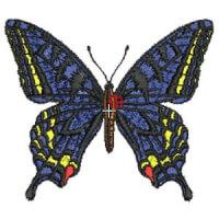 Matriz de bordado borboleta 38