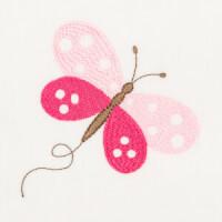 Matriz de bordado borboleta 65