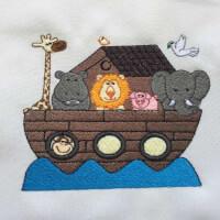 Matriz de bordado arca animais 4