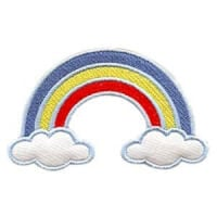 Matriz de bordado arco-iris 03(aplique)