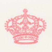 Matriz de bordado Coroa 16