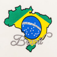 Matriz de bordado brasil 75