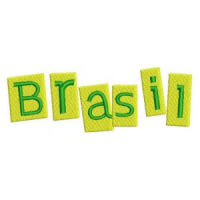 Matriz de bordado brasil 90