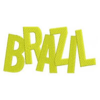 Matriz de bordado brasil 91