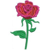 Matriz de bordado Rosa 3