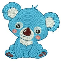 Matriz de bordado Coala baby 1