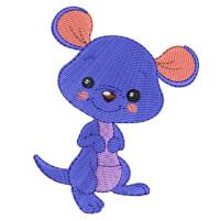 Matriz de bordado Canguru baby  1