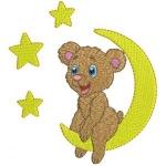 Matriz de bordado Urso 62