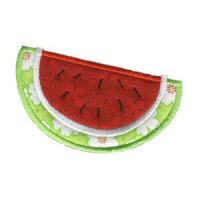 Matriz de bordado melancia 10 (aplique)