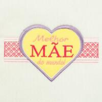 Matriz de bordado Dia das Mães 40 (aplique)