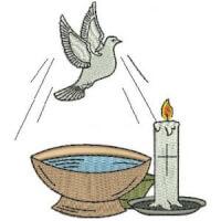Matriz de bordado Símbolo Religioso 4