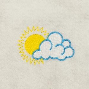 Matriz de bordado Nuvem