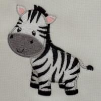 Matriz de bordado zebr