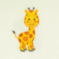 Matriz de bordado Girafinha 3