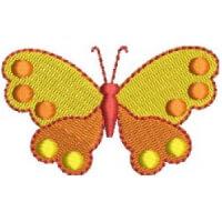 Matriz de bordado borboleta 79