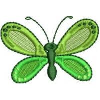 Matriz de bordado borboleta 80
