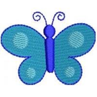 Matriz de bordado borboleta 81