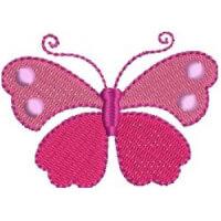Matriz de bordado borboleta 82