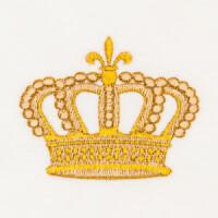 Matriz de bordado Coroa 33