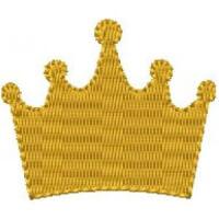 Matriz de bordado Coroa 34