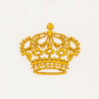 Matriz de bordado Coroa 38