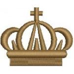 Matriz de bordado Coroa 41