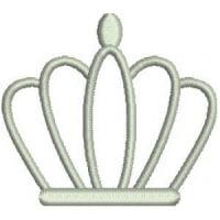 Matriz de bordado Coroa 42