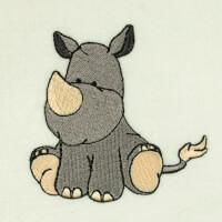 Matriz de bordado rinoceronte 4
