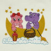 Matriz de bordado hipopótamo 11