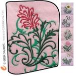 Matriz de bordado Pacote Bordados Florais 9