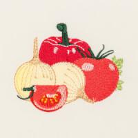 Matriz de bordado legumes e verduras 1