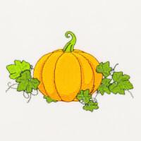 Matriz de bordado legumes e verduras 3