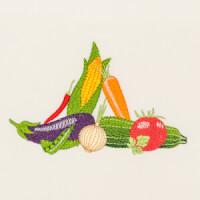 Matriz de bordado legumes e verduras 5