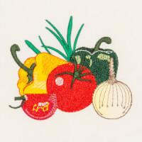 Matriz de bordado legumes e verduras 10