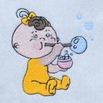 Matriz de bordado baby 158