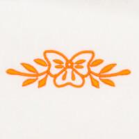Matriz de bordado floral 492