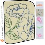 Matriz de bordado Pacotes Bordados Florais Ornamentação