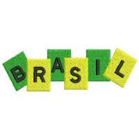 Matriz de bordado Brasil 3