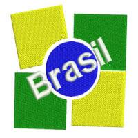Matriz de bordado Brasil 2
