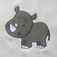 Matriz de bordado Rinoceronte